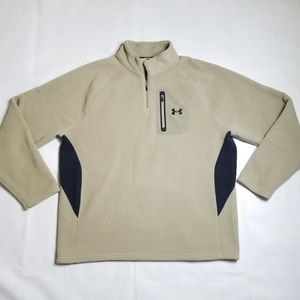 Under Armour Polyester Fleece Zip Pullover
